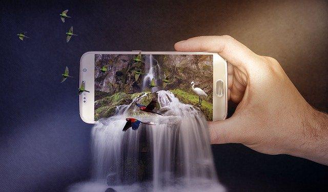 cara crop gambar di photoshop