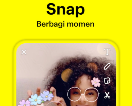 cara menggunakan snapchat