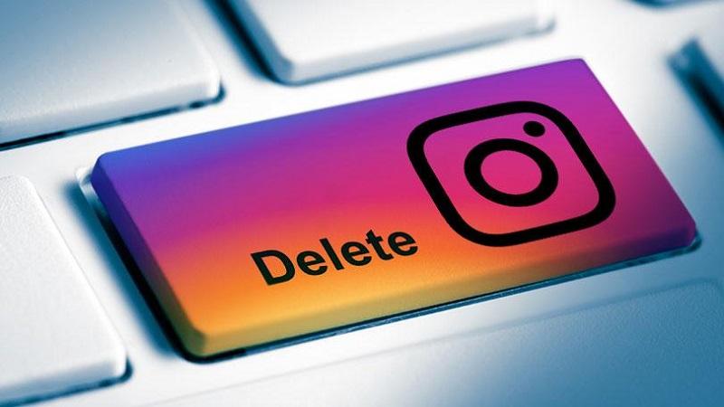 cara tutup akun instagram
