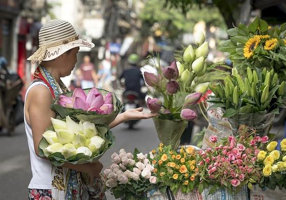 ide bisnis kreatif toko bunga