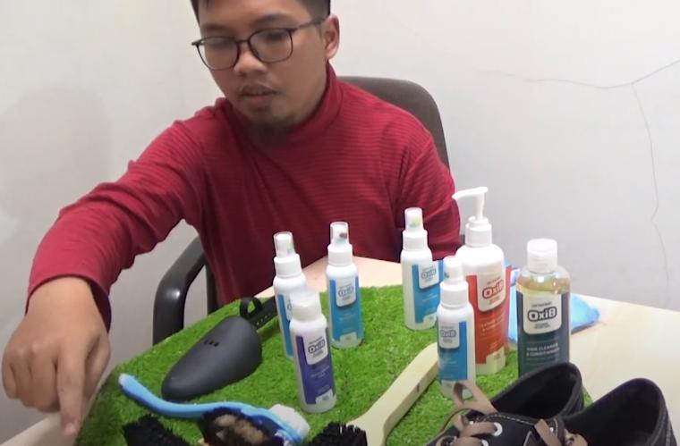 peralatan bisnis laundry sepatu