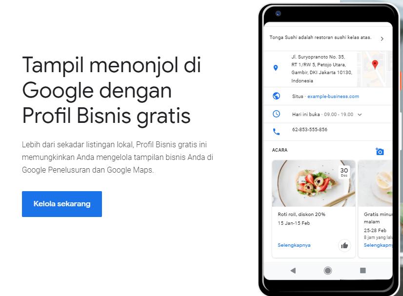 Minat Berbisnis? Coba Cara Daftar Google Bisnisku